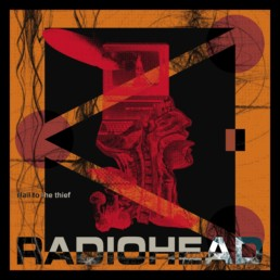 Redesign Radiohead Hail to the thief cover and artwork